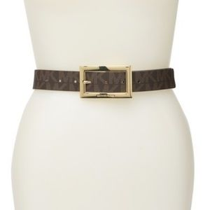 Michael Kors Logo Reversible Belt